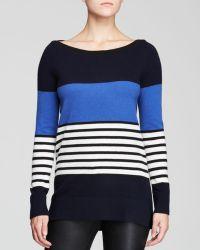 Kate Spade Amari Stripe Sweater - Lyst