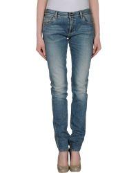 Gucci Denim Trousers - Blue
