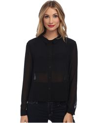 Mink Pink Lost in Thought Shirt - Lyst
