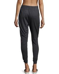 Pink Lotus - Sprint Technical Sweatpants - Lyst