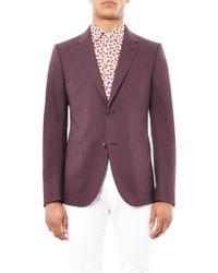 Gucci New Signoria Two-Button Blazer - Lyst