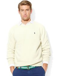 Ralph Lauren Polo Frenchrib Crewneck Pullover - Lyst