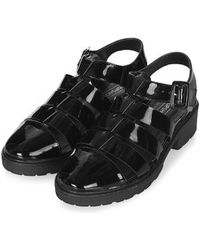 Topshop Flow Cleated Gladiator Sandals - Lyst