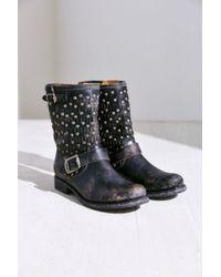 Frye Jenna Cut Stud Short Boot - Lyst