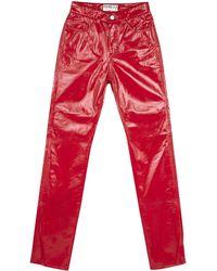 Fiorucci FIORUCCI Vinyl pants