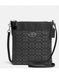 Coach Courier Crossbody in Signature Canvas - Lyst