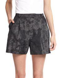 3.1 Phillip Lim Metallic Jacquard Shorts - Lyst