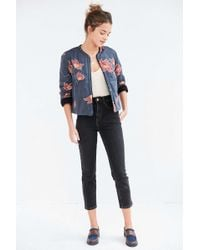 Kimchi Blue - Wave Quilted Reversible Jacket - Lyst