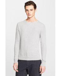 Rag & Bone 'Maurice' Cotton Crewneck Sweater - Lyst