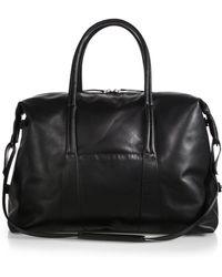 Maison Margiela Sailor Leather Weekend Bag - Lyst
