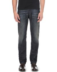 Diesel Belther Slim-fit Tapered Jeans 32 - Lyst