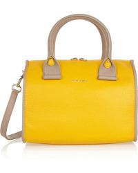 See By Chloé April Texturedleather Duffle Bag - Lyst