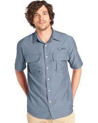 G.H.BASS - Explorer Solid Performance Short Sleeve Shirt - Lyst