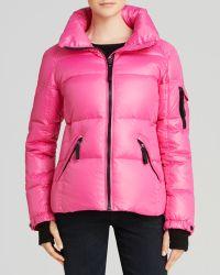 Sam. Freestyle Down Jacket - Pink
