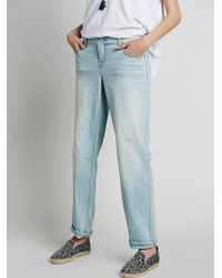 Free People Womens Low Rise Relaxed Skinny - Lyst