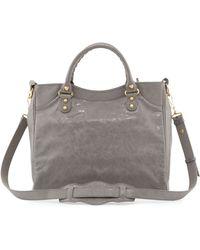 Balenciaga Giant 12 Golden Velo Bag Dark Gray - Lyst