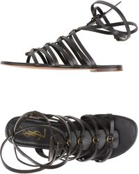 Yves Saint Laurent Rive Gauche | Sandals | Lyst