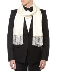 Brooks Brothers - Houndstooth Jacquard Formal Scarf - Lyst