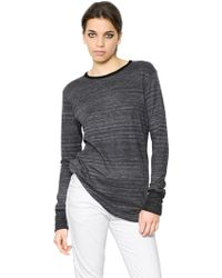 Etoile Isabel Marant Viscose Blend Jersey Tshirt - Lyst