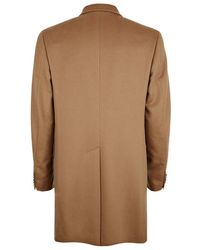 Harrods - Pure Cashmere Classic Coat - Lyst