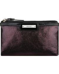 Nine West Glitter Mob Cosmetic Case - Purple