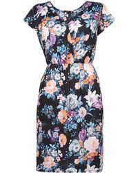 Therapy Large Floral Wrap Dress - Lyst
