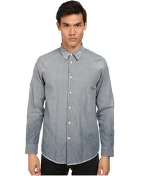 Marc Jacobs Slim Fit Sunbleached Chambray L/S Button Up - Lyst