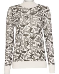 Pied a Terre   Wolf Print Jumper   Lyst