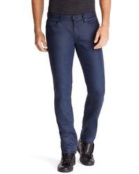Hugo 708  Slim Fit Stretch Cotton Jeans - Lyst