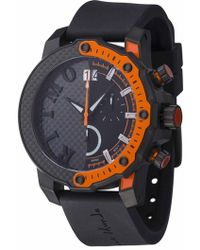 Ritmo Mundo - 'quantum Iii' Chronograph Silicone Strap Watch - Lyst