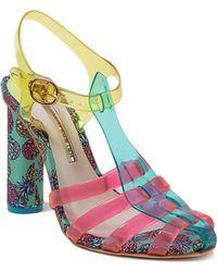 Sophia Webster Rosa Pineapple Heeled Sandals - Lyst