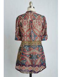 Magazine Clothing Co., Inc. - Back Road Ramble Cotton Tunic In Mosaic - Lyst