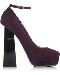 Aperlai Purple Closed Toe - Lyst