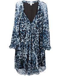 Diane von Furstenberg 'Fleurette' Dress - Lyst