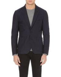 Paul Smith Casual Stretch-cotton Blazer - Lyst