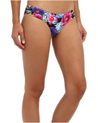Seafolly Paradiso Ruched Side Pant - Lyst