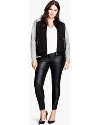 H&M Imitation Leather Trouser - Lyst