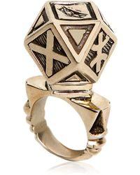 KTZ - Berber Metal Ring - Lyst