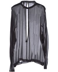 Camilla & Marc Blouse black - Lyst