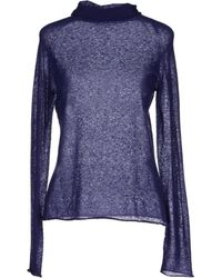 Blumarine Turtleneck purple - Lyst