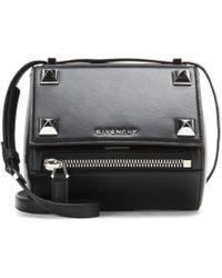 Givenchy Pandora Box Mini Embellished Leather Shoulder Bag - Lyst