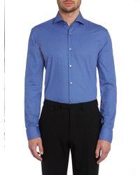 Hugo Boss Jason Slim Fit Geometric Print Shirt - Lyst