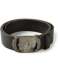 Diesel Branded Buckle Belt - Lyst