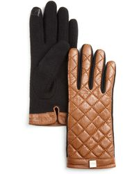 Pink Pony - Lauren Quilted Tech Gloves - Lyst