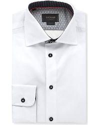 Duchamp Tailored Cotton Shirt - For Men - Lyst