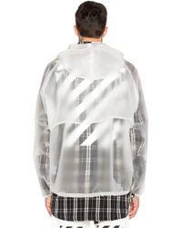 Off-White c/o Virgil Abloh Short Raincoat - Multicolor