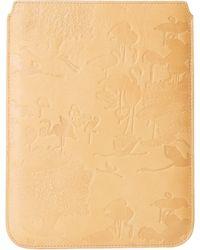 Scotch & Soda - Leather Flamingo Tablet Case - Lyst