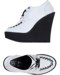 T.U.K. Lace-Up Shoes - Lyst