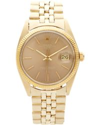 CMT Fine Watch And Jewelry Advisors - Rolex 14k Date - Lyst