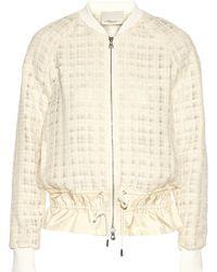 3.1 Phillip Lim - Silk-trimmed Tweed Jacket - Lyst